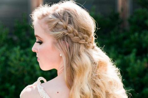 Wedding hair stylist in Richardson, Texas